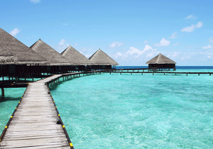 Resort in South Pacific