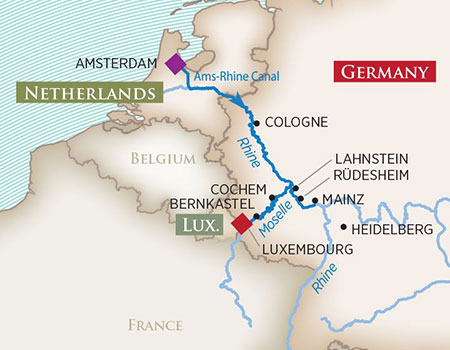 Rhine-Moselle-Escorted-river-cruise-map